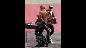 BANGTAN BOMB 'FIRE' MV Shooting- 'V' Follow ver