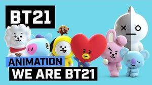 BT21 WE ARE BT21