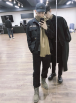 Rap Monster and Jungkook Twitter November 12, 2017 (1)