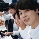 Jin, J-Hope, Jimin BTS Exhibition