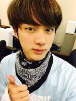 Jin Twitter Nov 30, 2016
