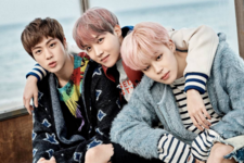 Jin, J-Hope and Jimin You Never Walk Alone