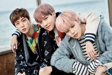 Jin, J-Hope and Jimin You Never Walk Alone