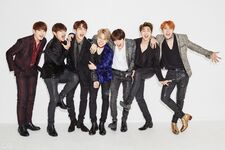 BTS GQ Korea Magazine Dec 2016