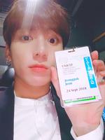 Jungkook Twitter Sep 28, 2018