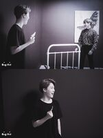 Jungkook and Jimin Wings Shoot (2)