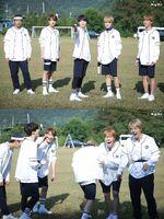 V, Suga, Jungkook, Jimin, J-Hope and Jin 2017 Season Greeting Sketch