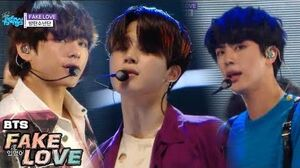 HOT BTS - FAKE LOVE , 방탄소년단 - FAKE LOVE Show Music core 20180602