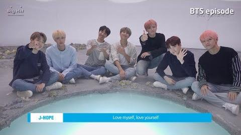 EPISODE BTS (방탄소년단) LOVE MYSELF Global Campaign Video Shooting Sketch