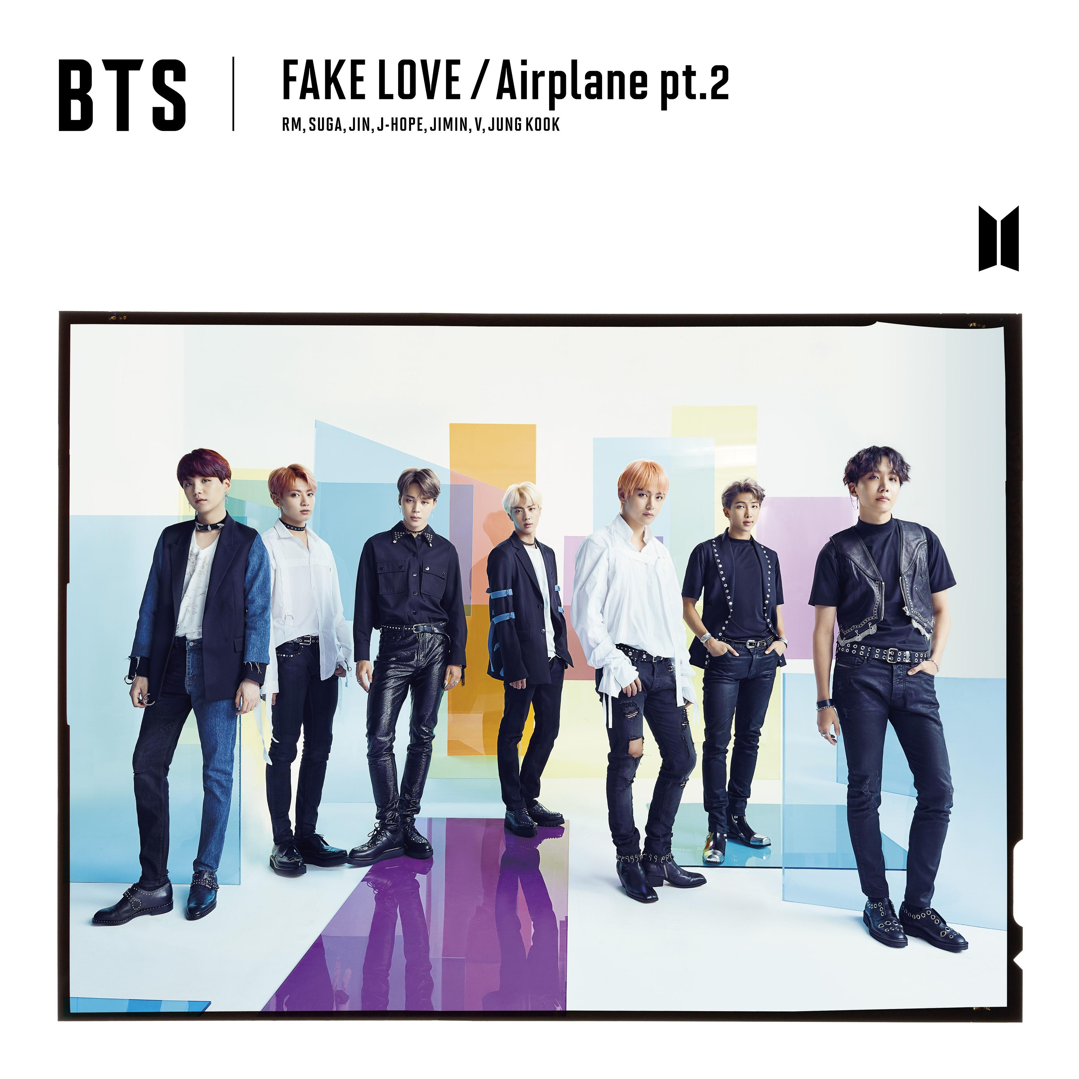 Fake Love Airplane Pt 2 Bts Wiki Fandom