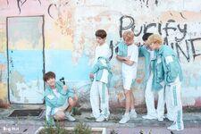 Jin, V, RM, Jimin and Jungkook 2018 Season Greeting Sketch (2)