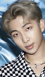 RM Lights Boy With Luv Promo Picture