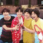 J-Hope, Jimin and Suga Coca Cola Korea Aug 2018
