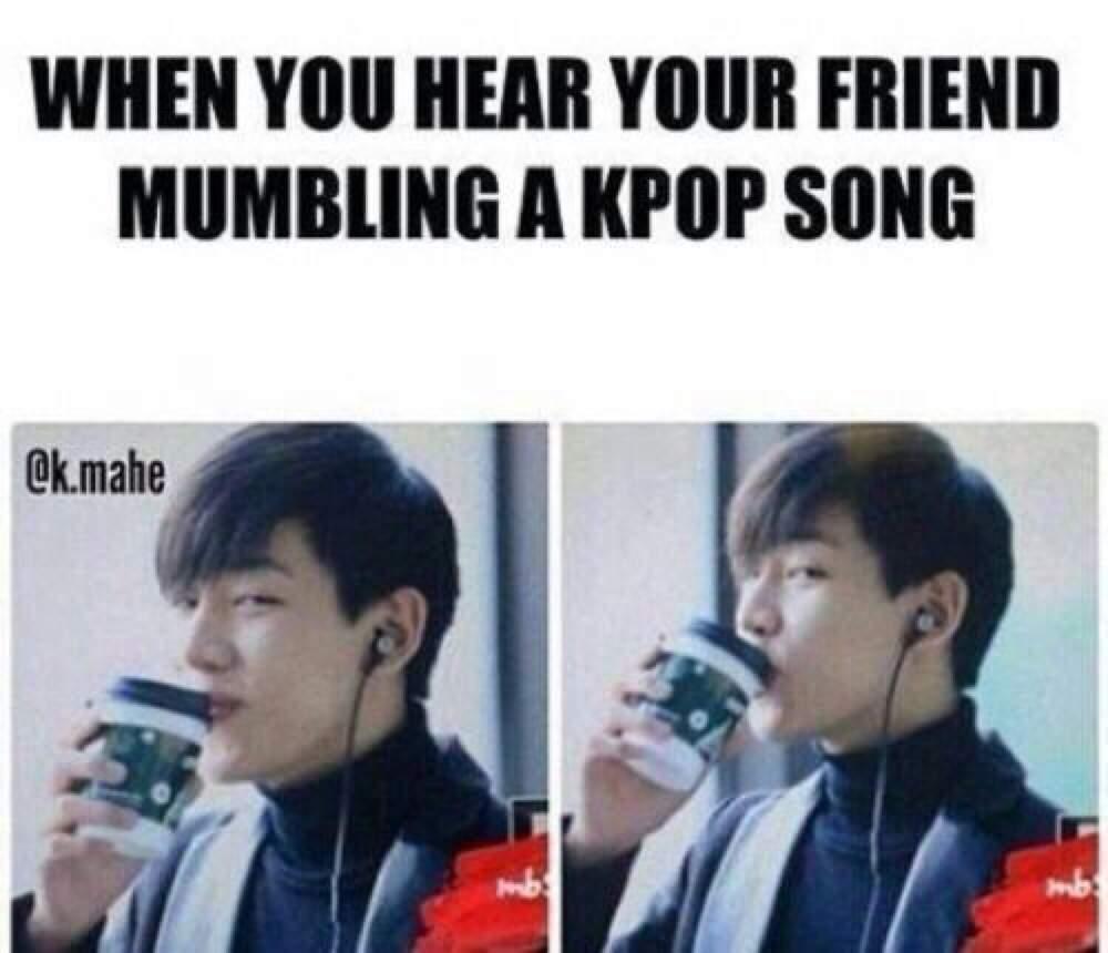 bts memes kpop funny got7 meme bambam dab song jb hilarious hear friend brighten quotes xd got mumbling face korean