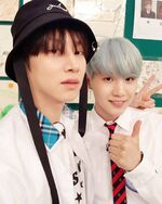 Heechul with Suga Instagram Sep 23, 2017