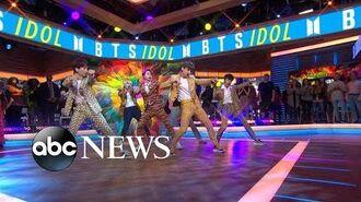 BTS performs smash-hit 'Idol' live on 'GMA'