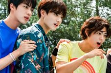 Jungkook and Jin Coca Cola Korea Aug 2018 (2)