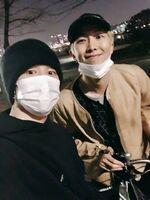 Jimin and RM Twitter Mar 11, 2019 (1)