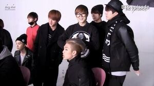 Episode Rap Monster 'Do You' MV shooting (BTS members supported RM)