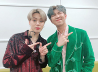 RM and Jimin Official Twitter Dec 28, 2018