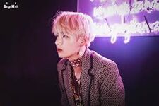 V promoting Wings (October 2016)