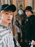 Jimin and Jungkook Twitter Oct 14, 2018 (2)