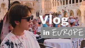VLOG RM 9일간의 유럽 여행기 미술관투어 친구랑룰루랄라