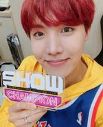 J-Hope at Show Champion 170927