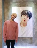 Jin Twitter Aug 31, 2018