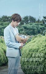 Jin Love Yourself Teaser Poster