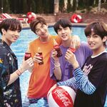Jungkook, RM, Jin and V Coca Cola Korea Aug 2018 (2)