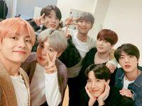 BTS on Weibo Dec 24, 2018 (1)