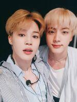 Jimin and Jin Twitter July 7, 2018 (2)