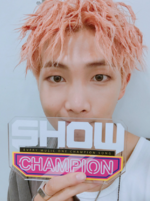 Rap Monster at Show Champion 170927 (2)