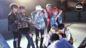 BANGTAN BOMB 'FIRE' MV Shooting - Free gesture Time - BTS (방탄소년단)