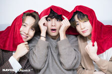 J-Hope, V, and Jungkook X Dispatch Dec 2019 1