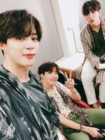 Jimin, J-Hope and Jungkook Twitter June 1, 2018