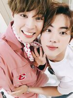 JinMin BTS 4th Birthday