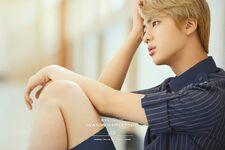 Jin 2017 Season Greeting Teaser Image