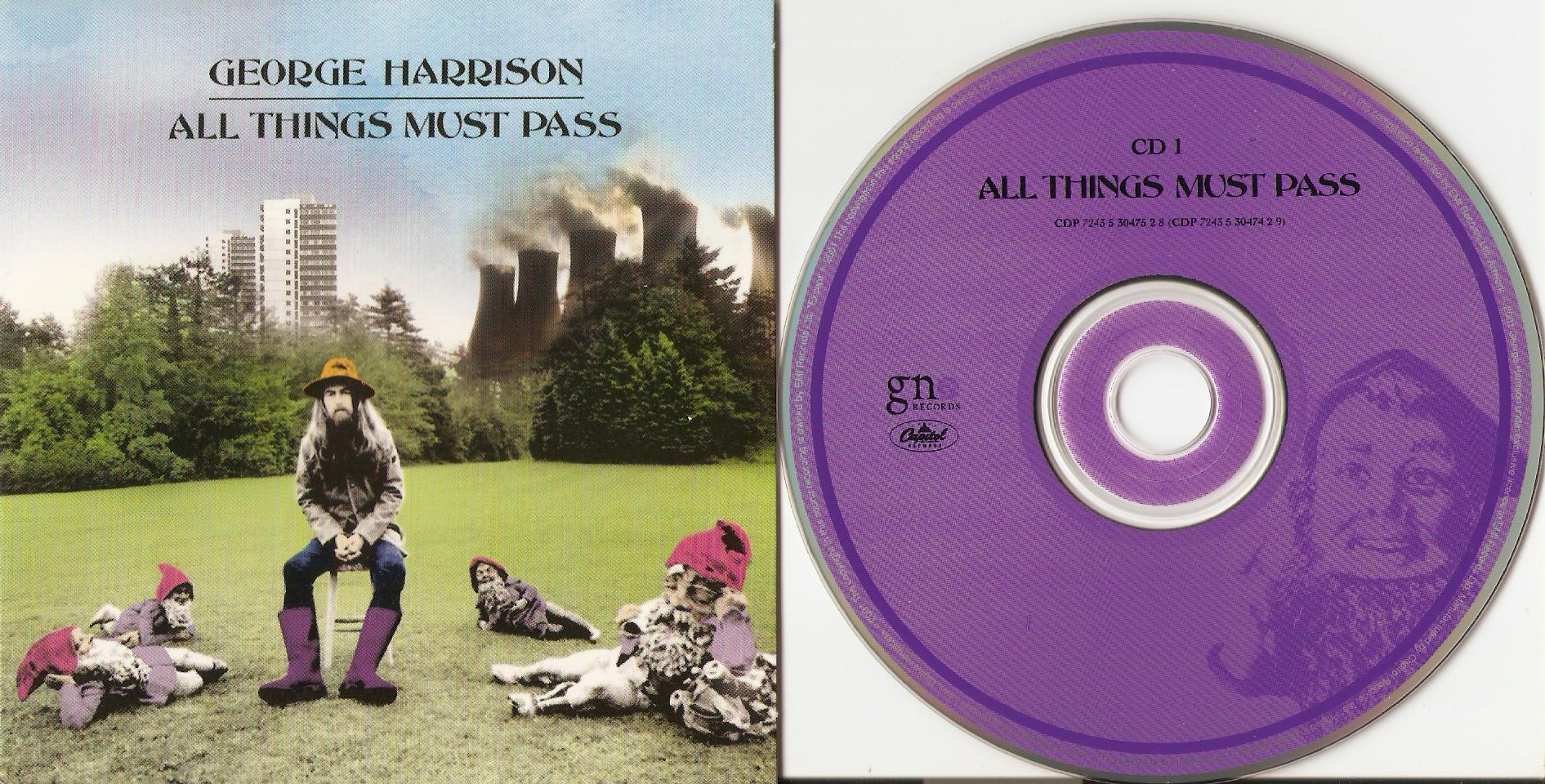 All Things Must Pass Cd Box Set Disc 1