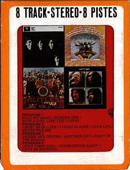 Rutles 8-track can