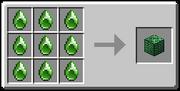 Green Middle Gem Block