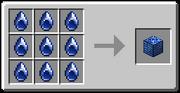 Aqua Middle Gem Block