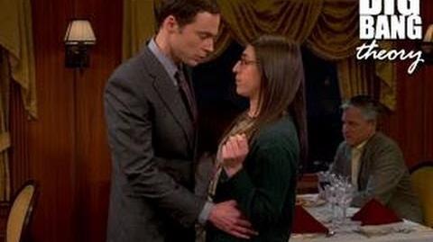 The Big Bang Theory - Sheldon Kisses Amy