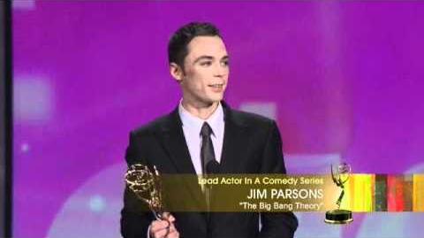 Jim Parsons - Emmy Awards