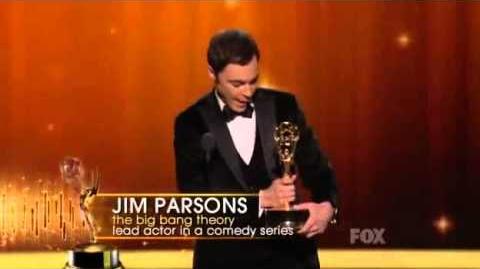 Jim Parsons - Emmy Award 2011