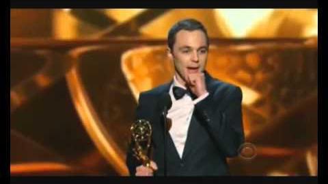 Jim parsons Remporte son emmy awards 2013