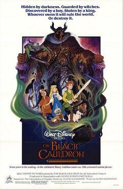 The Black Cauldron (1985) Poster