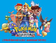 Pokemon Diamond and Pearl (TheBluesRockz)