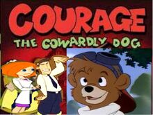 Kit the cowardly bear cub